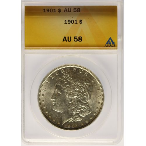 1901 Morgan Dollar AU-58 (ANACS)