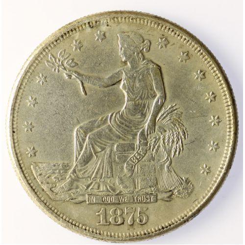 1875-CC Trade Dollar