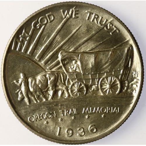 1936 Oregon Trail Half Dollar