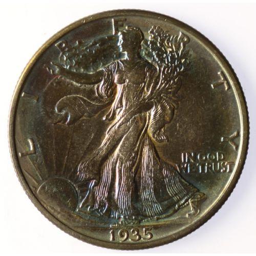 1935-D Walking Liberty Half Dollar