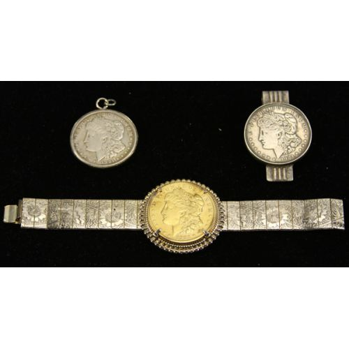 1921 Morgan Dollar Jewelry & Money Clip