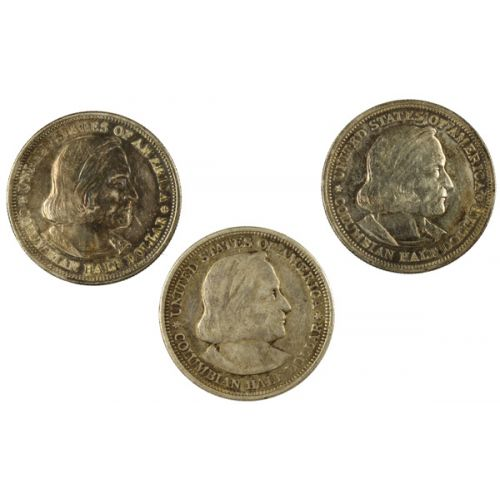 1892 & 1893 Columbian Half Dollars