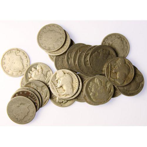 (11) Liberty & (11) Buffalo Nickels