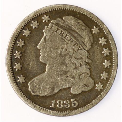 1835 Bust Dime