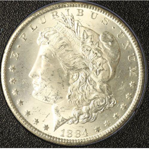 1884-CC GSA Morgan Dollar