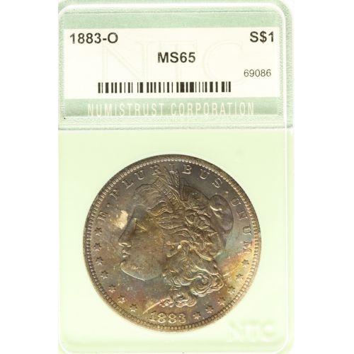 1883-O Morgan Silver Dollar MS-65 (NTC)