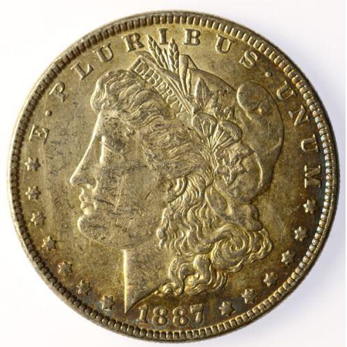 1887 Morgan Silver Dollar VAM-12