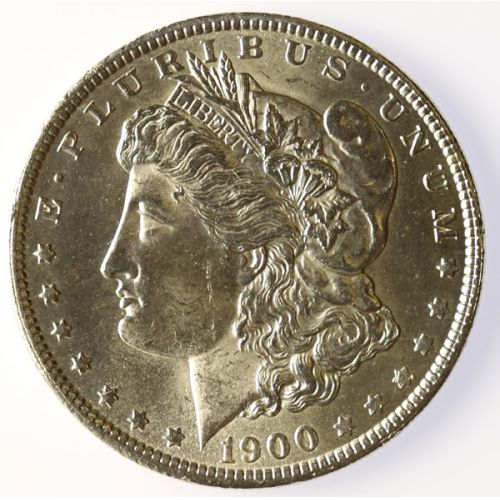 1900-O Morgan Silver Dollar