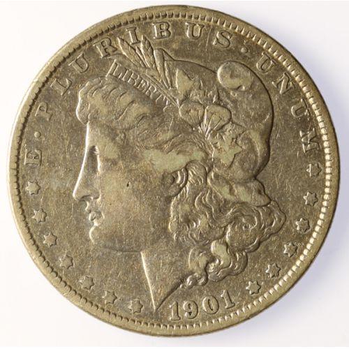 1901-P Morgan Silver Dollar