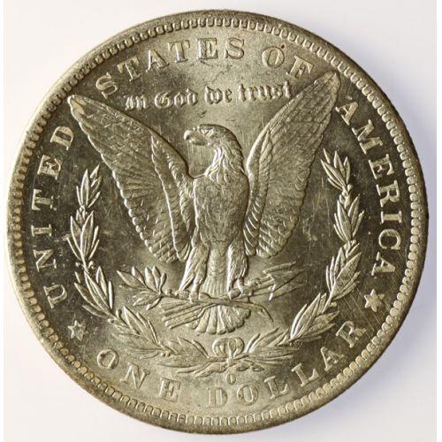 1883-O Morgan Silver Dollar- Bright White Original!