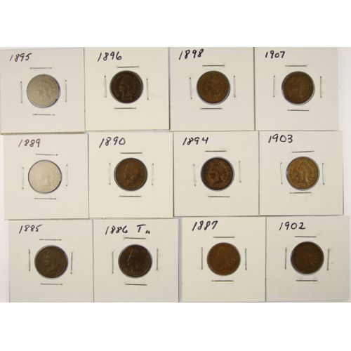 Indian Head Cents (12pcs.)