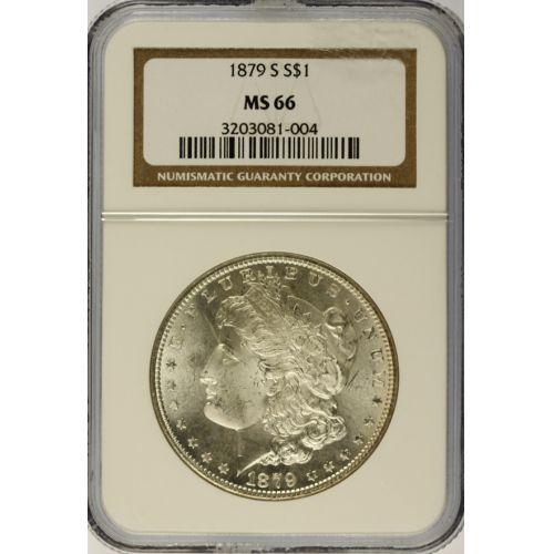1879-S Morgan Dollar MS-66 (NGC)