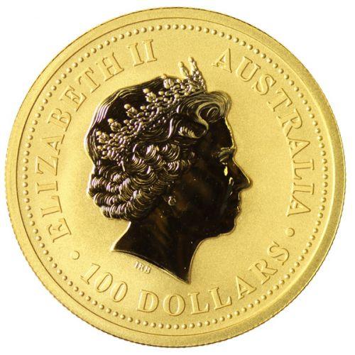 2001 Australia $100 1 oz. Gold