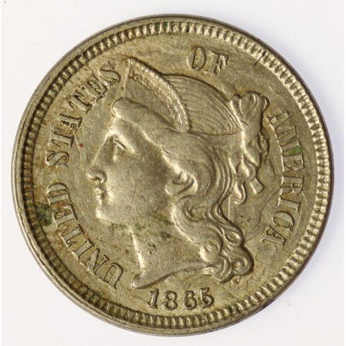 1865 3-Cent