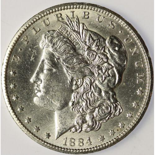 1884-CC Morgan Dollar DMPL