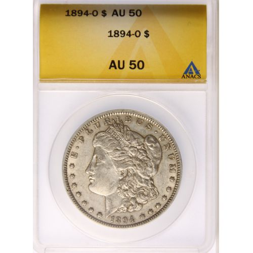 1894-O Morgan Dollar AU-50 (ANACS)