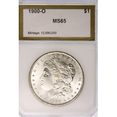 1900-O Morgan Dollar MS-65 (PCI)
