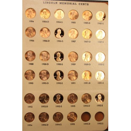 Lincoln Cent Collection (1909-1994)