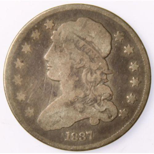 1837 Bust Quarter