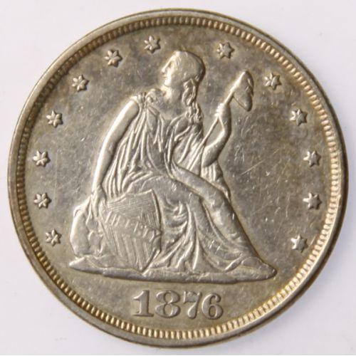 1876 20-Cent