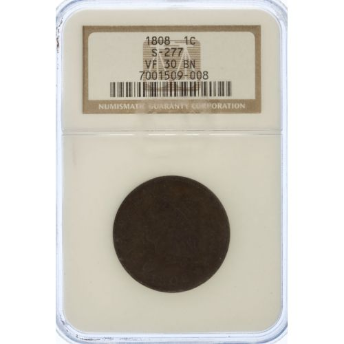 1808 Large Cent VF-30 (NGC)