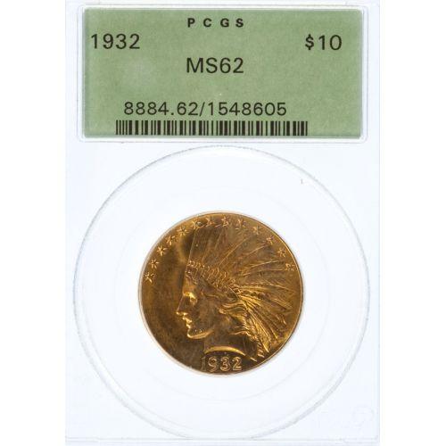 1932 $10 Gold MS-62 (PCGS)