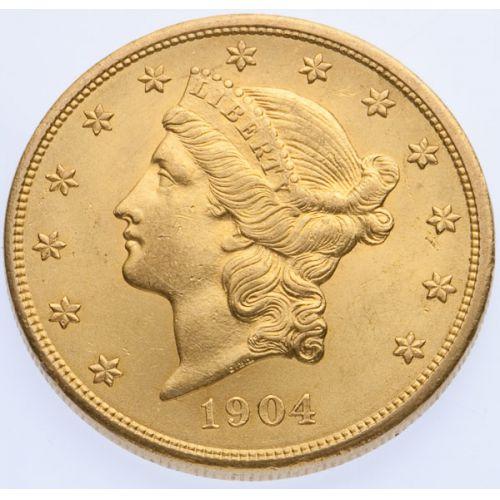 1904 $20 Gold