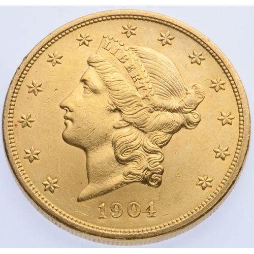 1904 $20 Gold