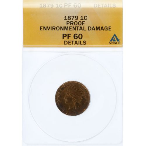 1879 Indian Head PF-60 Details (ANACS)