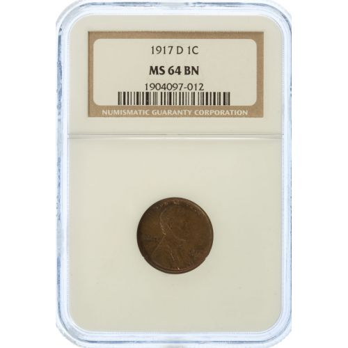 1917-D Lincoln Cent MS-64 (NGC)