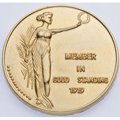 1919 Ku Klux Klan Medallion