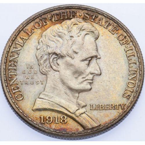 1918 Lincoln Half Dollar