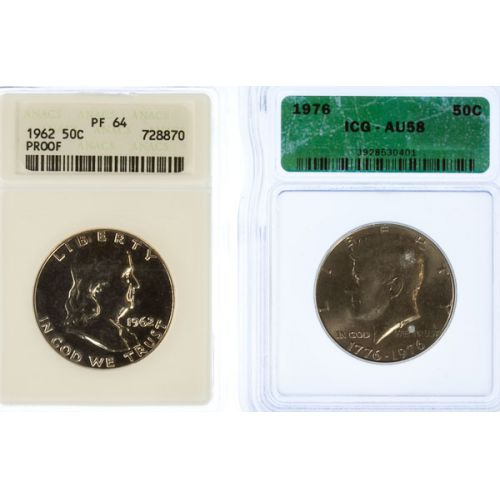 Graded Coin Collection (4pcs.)