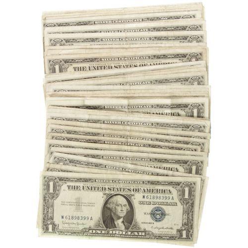 $1 Silver Certificates (50pcs.)