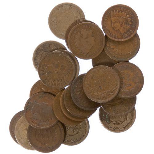 Indian Head Cents (25pcs.)