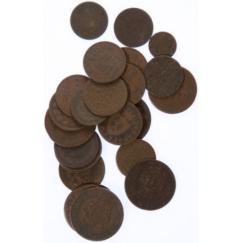 Germany: Copper Coins (23pcs.)