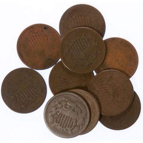 2-Cent Pieces (10pcs.)