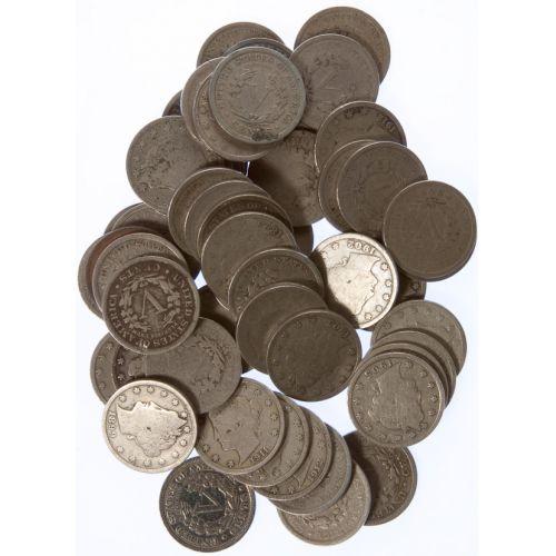 Liberty Nickels (53pcs.)