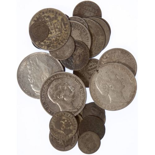 Germany: Silver Coins (30pcs.)