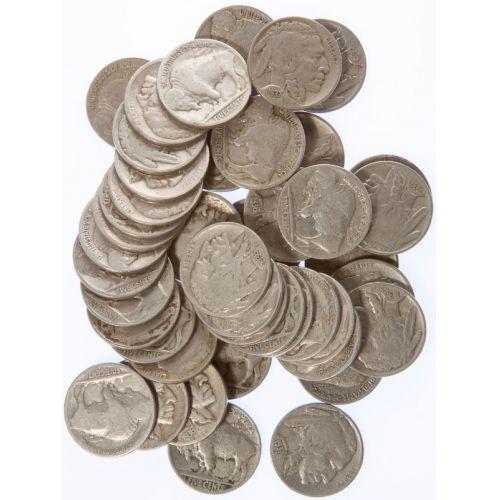Buffalo Nickel Roll (50pcs.)