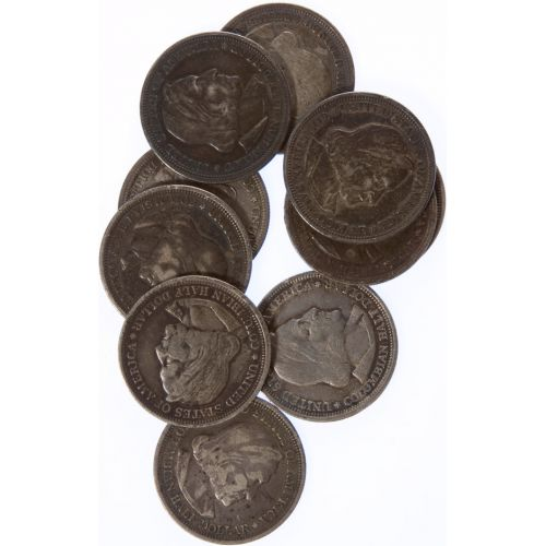 1892 Columbian Half Dollars (10pcs.)