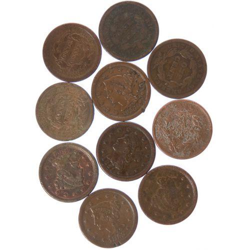 Large Cents (10pcs.)