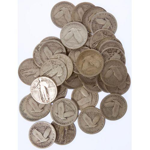 Standing Liberty Quarters (40pcs.)