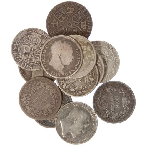 Great Britain: Shillings (12pcs.)