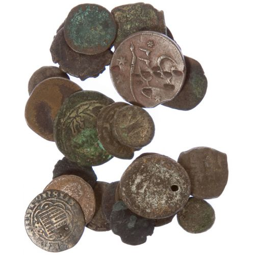 World: Unidentified Coins (25pcs.)