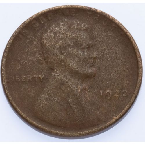"""1922 """"No D"""" Lincoln Cent"""