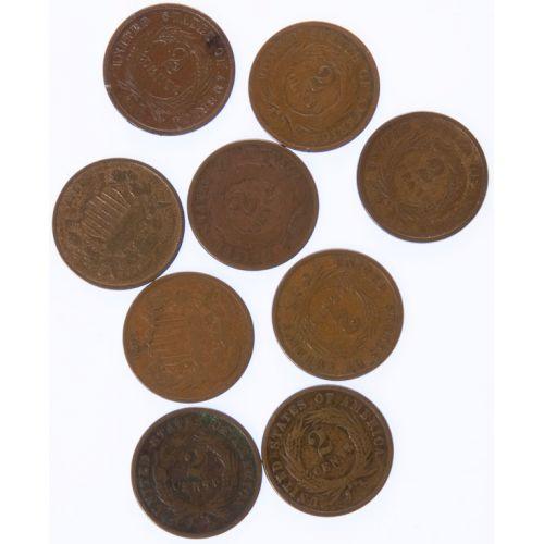 2-Cent Pieces (9pcs.)