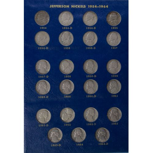 Jefferson Nickel Book (1938-1964)