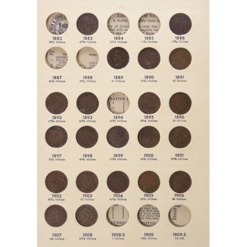 Indian Head Cent Books (47pcs.)