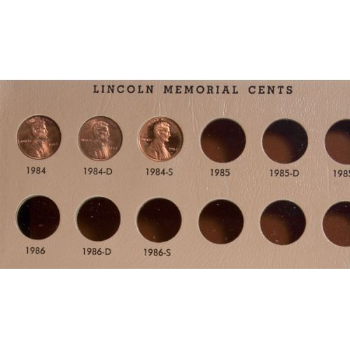 Lincoln Cent Book (1935-1984 including proofs)